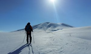 Mount Gutanasar ski trail