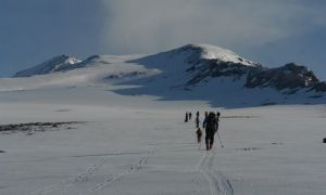 Aragats Southern Summit Ski Trail